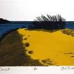 Coast Linocut Edition of 10